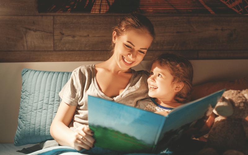 Bedtime stories for children.
