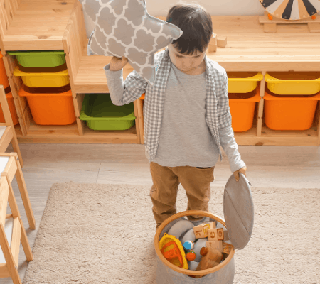 6 Easy and Effortless Tips for Organization with Kids