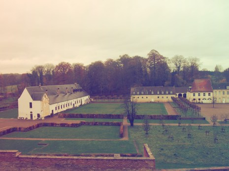 Panorama Red Cloister