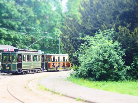 Tour on a historical tram