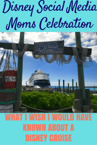 What I Wish I Would Have Known About Disney Cruises