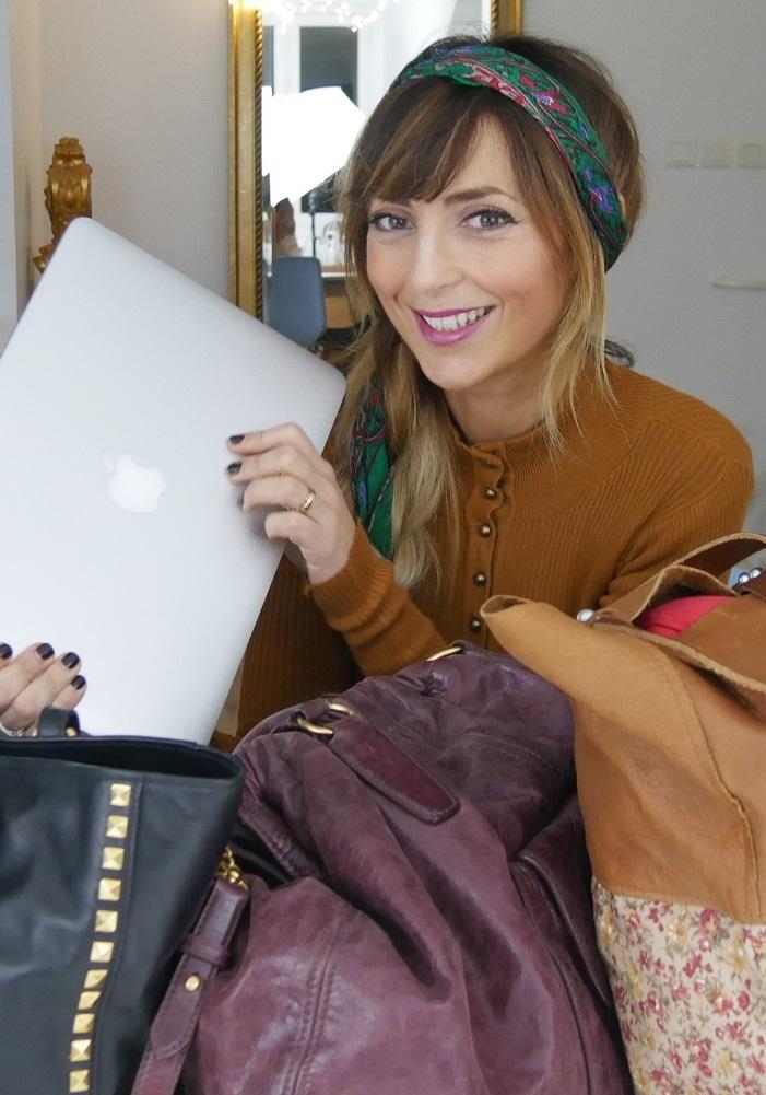 amourblogetbeaute sacs glamour pour ordinateur- Prix abordables
