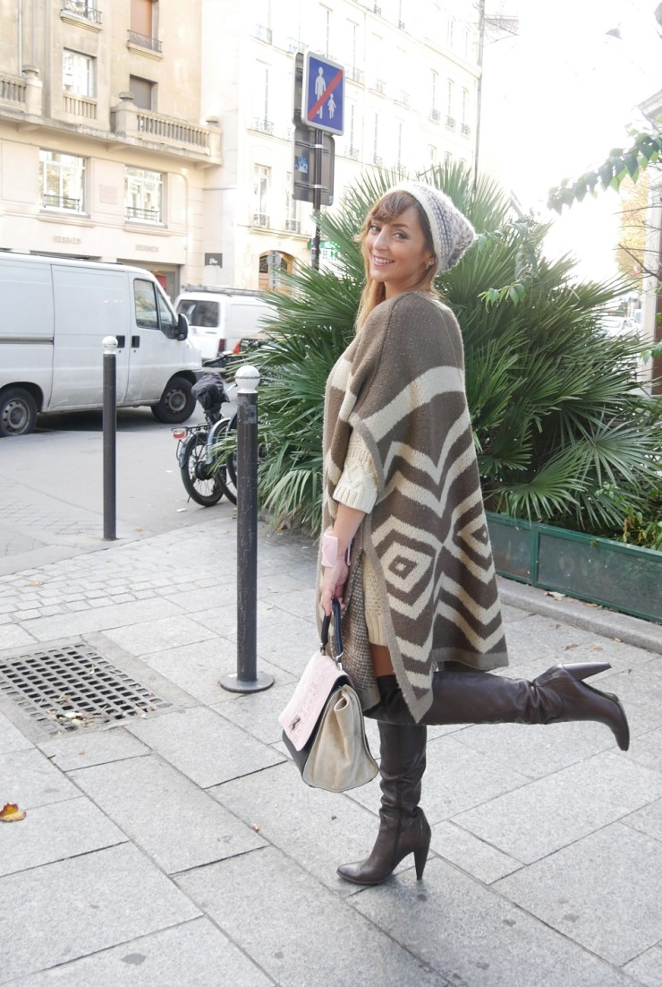amourblogetbeaute envie de cocooning robe pull cape 2