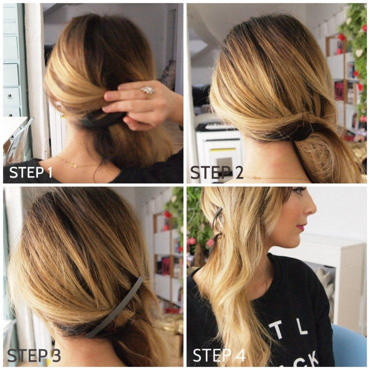 amourblogetbeaute tutos coiffure 5 - cheveux sur le côté