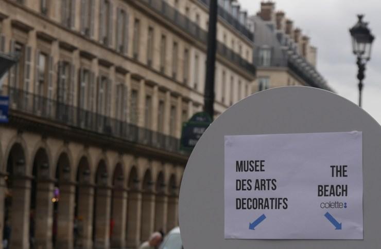 AmourBlogEtBeaute Expo Colette Bulles Comment porter la résille Exposition Colette The Beac