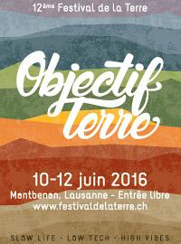 Affiche Festival de la Terre 2016