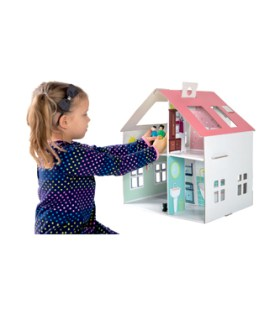 Legler – Cardboard Doll House With Stickers