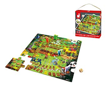 Janod - Giant Snakes and Ladders Game