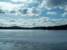 Kezar Lake, NH, Feb 2013