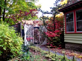 moongate, garden, Oct. 2015