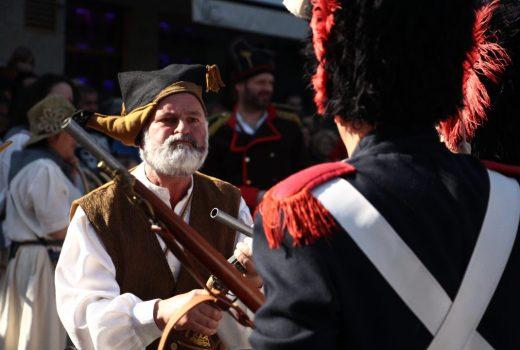 Representación da Reconquista da vila de Vigo