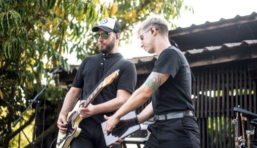 Recta final do festival de bandas locais
