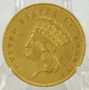 $3 Gold Coin for Online Auction