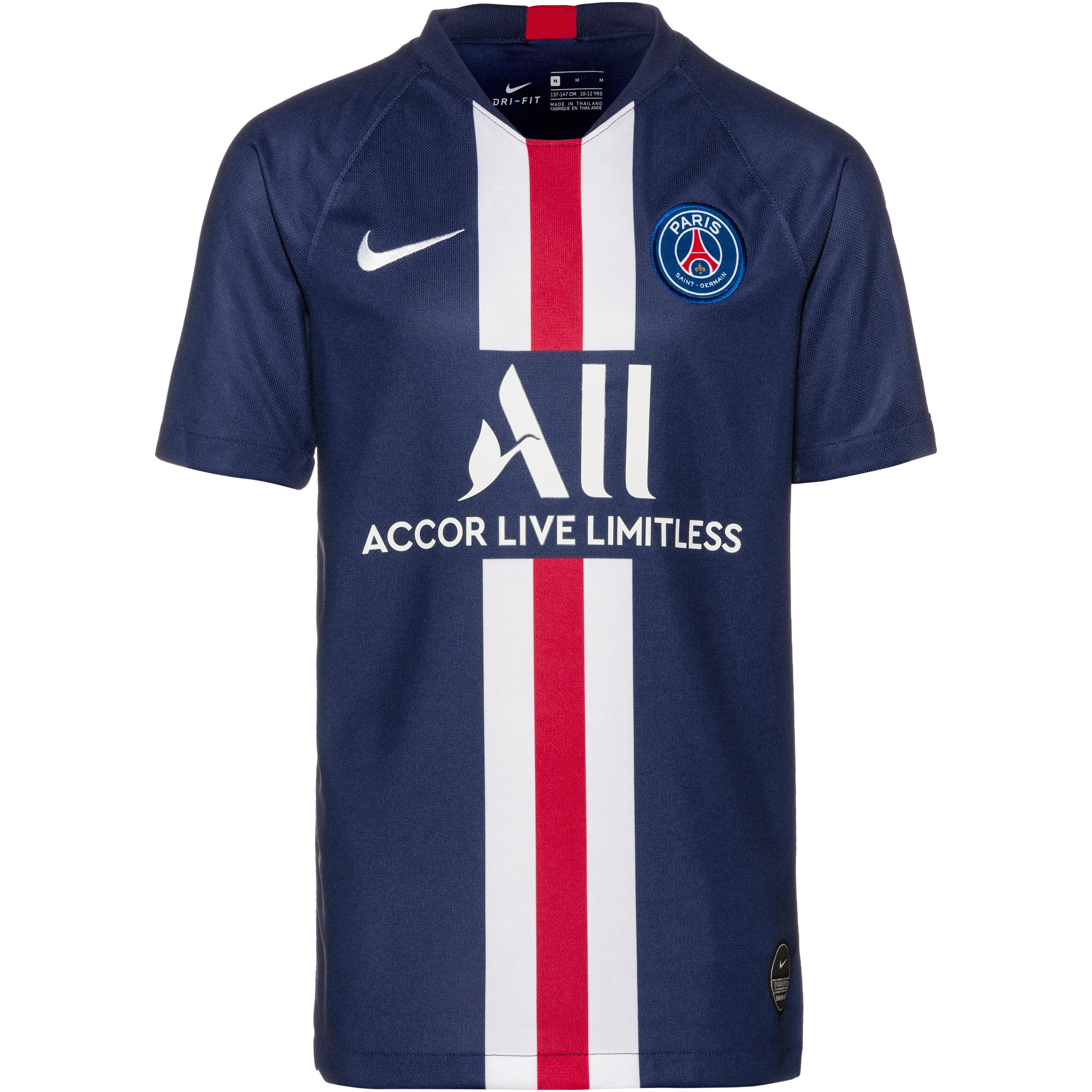 nike paris saint germain 19 20 heim trikot kinder midnight navy white im online shop von sportscheck kaufen