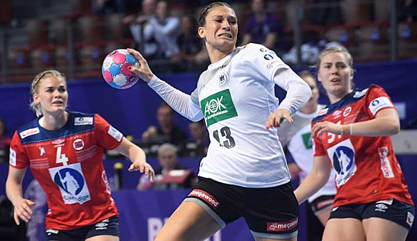 handball em deutsche frauen feiern