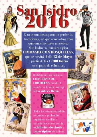 Cartel San Isidro_2016