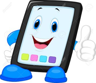 24469362-computer-tablet-cartoon-giving-thumb-up-stock-photo