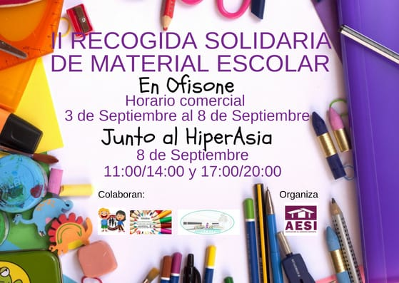 Recogida Solidaria Material Escolar