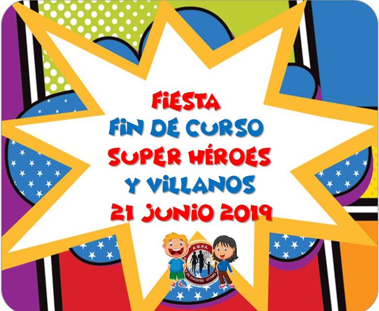 Fiesta Fin de Curso 21 Junio 2019