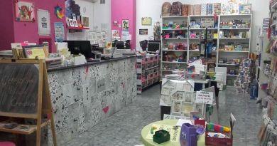 Fotografía del interior de la Copistería Copycrima