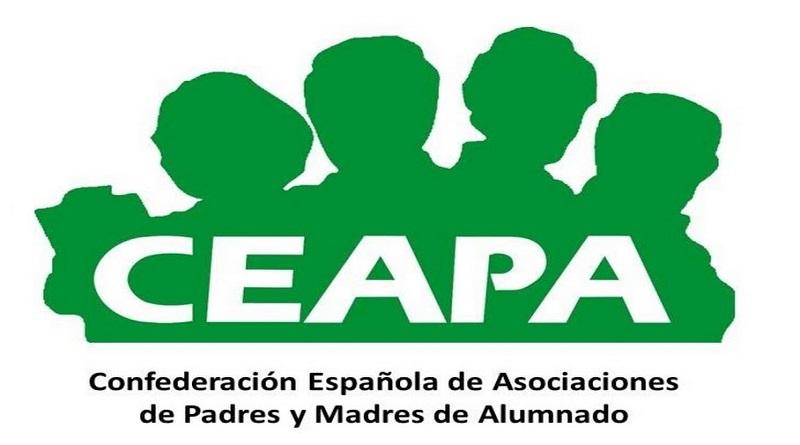 Logotipo de CEAPA o Confederaciíon Española de Asociaciones de Padres y Madres de Alumnado