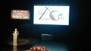 acto de graduación IES antonio gala