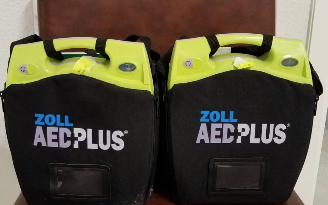 Salvar Vidas – Adquisiciones de 2 Desfibriladores