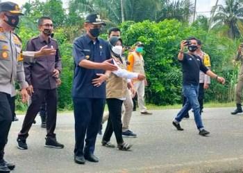 Kapolda Jambi Pantau Pos Penyekatan Arua Mudik Singkut - Muratara  (foto/istimewa)
