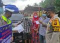 3 Bus dan 1 Minibus Terpaksa Putar Balik di Perbatasan Jambi – PalembangRabu, 28 April 2021  (Foto: Istimewa/ Ampar.id)