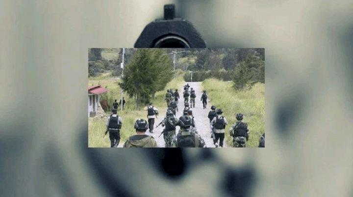Ilustrasi, 2 prajurit TNI disergap 20 orang terduga KKB Papua di Yahukimo, Selasa 18 Mei 2021