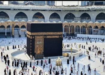 Ilustrasi Masjidil Haram di Mekkah. (Wikimedia Commons/Prof. Mortel)