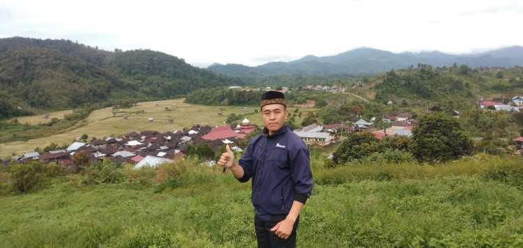 Admar Hadapi putra daerah asal Desa Pulau Tentang, Kecamatan Jangkat Kabupaten Merangin.