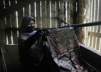 Melirik Potensi Warga Dikancah Industri, Ranah Ulu Gedong Bakal Dijadikan Objek Destinasi Wisata Batik di Jambi, Foto: Ampar.id/Ikhsan