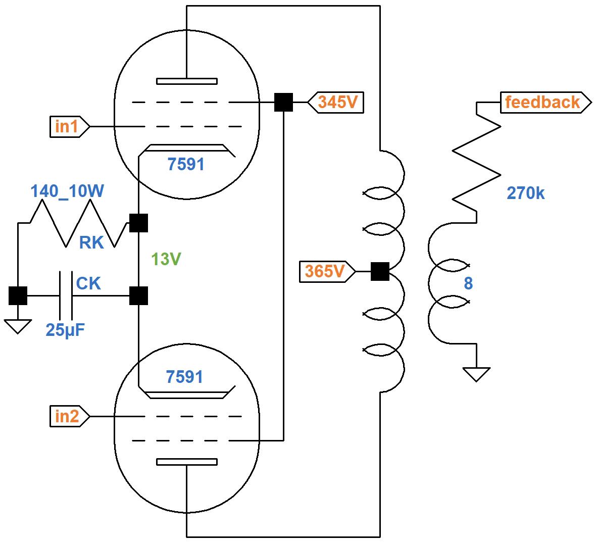 Ampeg Push Pull Power Amp