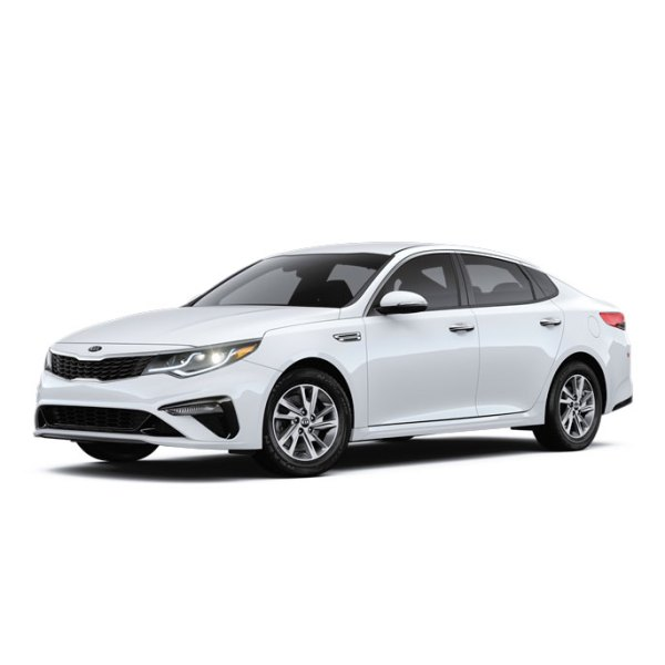 Kia Optima Side 45 white