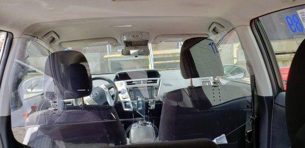 Toyota Prius protection taxi