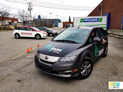 BYD Taxi Montréal