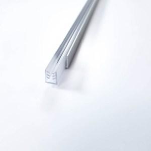 Aluminum molding for acrylic protection (plexiglass)