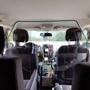 Protection hygiénique pour transport écolier