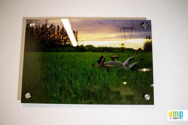 Acrylique imprimé sur stand off