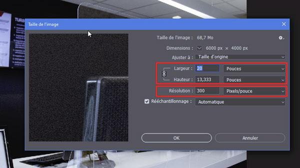 Comment trouver les dimensions d'une image sur un ordinateur grâce à Adobe Photoshop