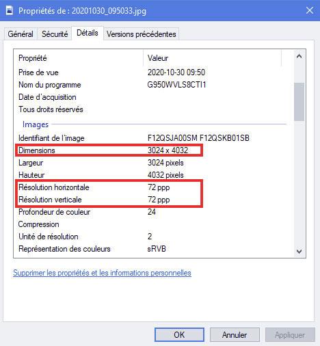 Comment trouver les dimensions d'une image sur un ordinateur Windows (PC)?