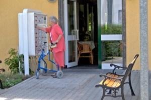 Eigener Briefkasten im Betreuten Wohnen in Olching