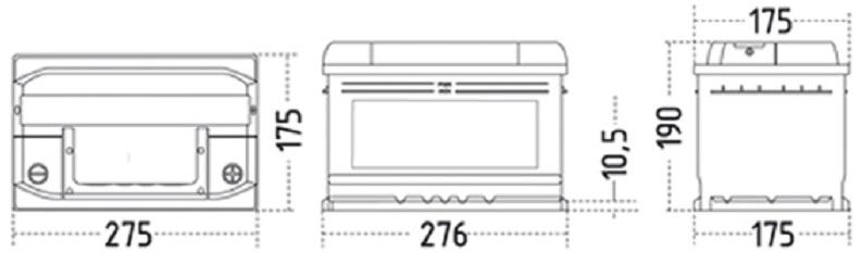 57705 ZAP EFB specs