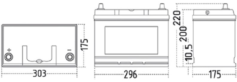 60047 ZAP EFB specs