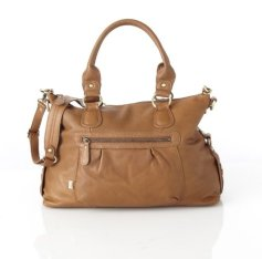 OiOi Tan Leather Slouch 1