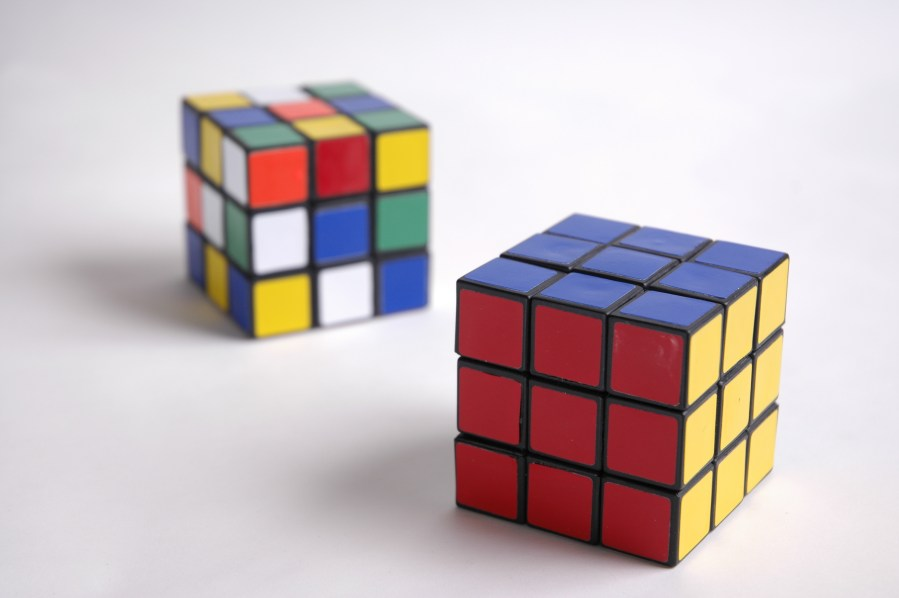 Solved Rubic Cube