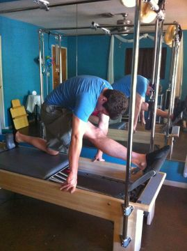 Hamstring and Hip Flexor Stretch