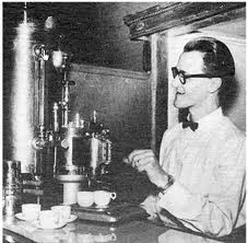 early espresso machine