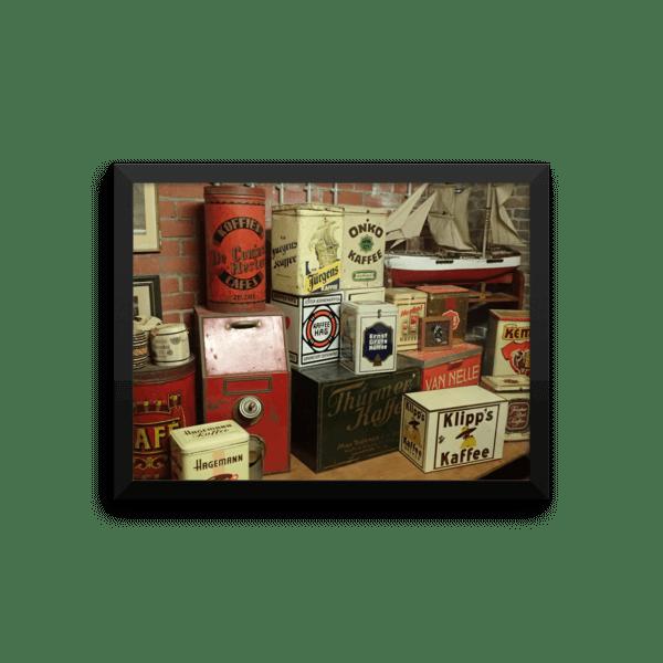 Coffee Poster – Burg Museum (matte)